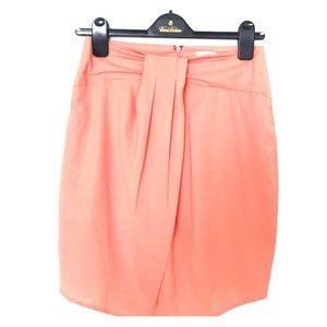 NWT. Peach skirt